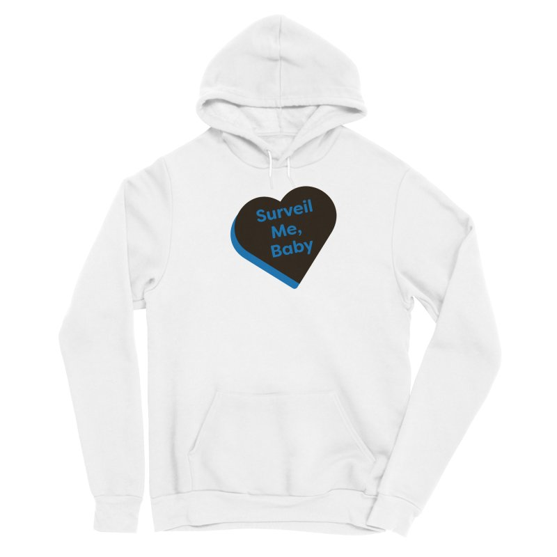 Surveil Me, Baby (Magic the Gathering Valentine - Dimir) Men's Pullover Hoody by The Schwaggering