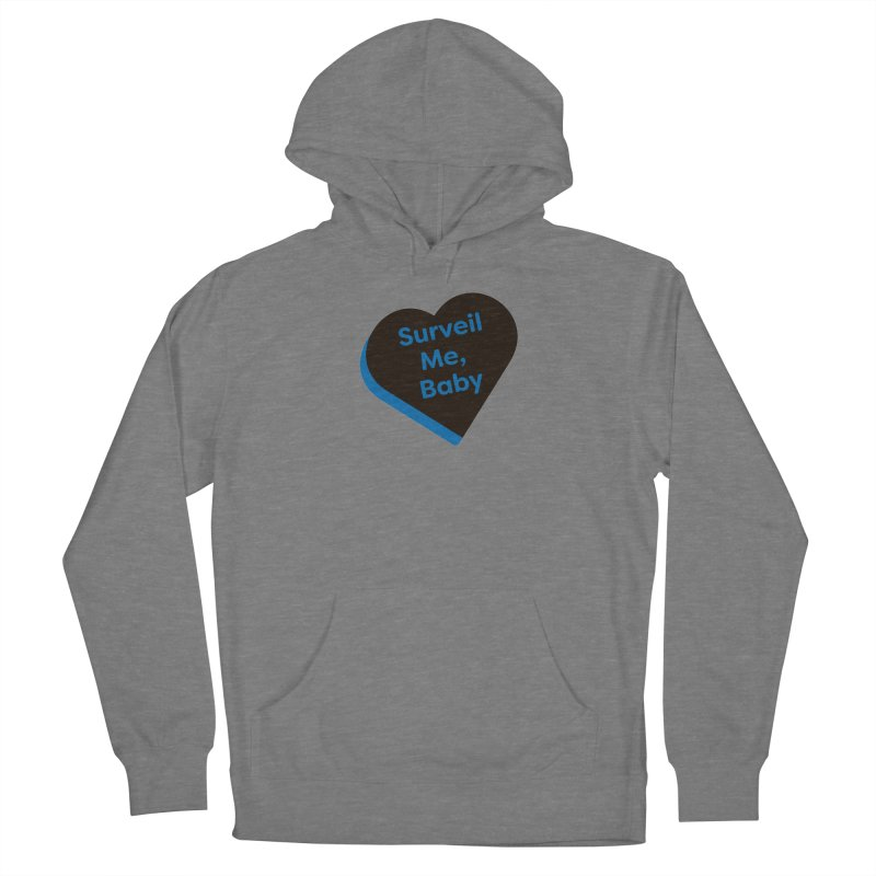 Surveil Me, Baby (Magic the Gathering Valentine - Dimir) Women's Pullover Hoody by The Schwaggering