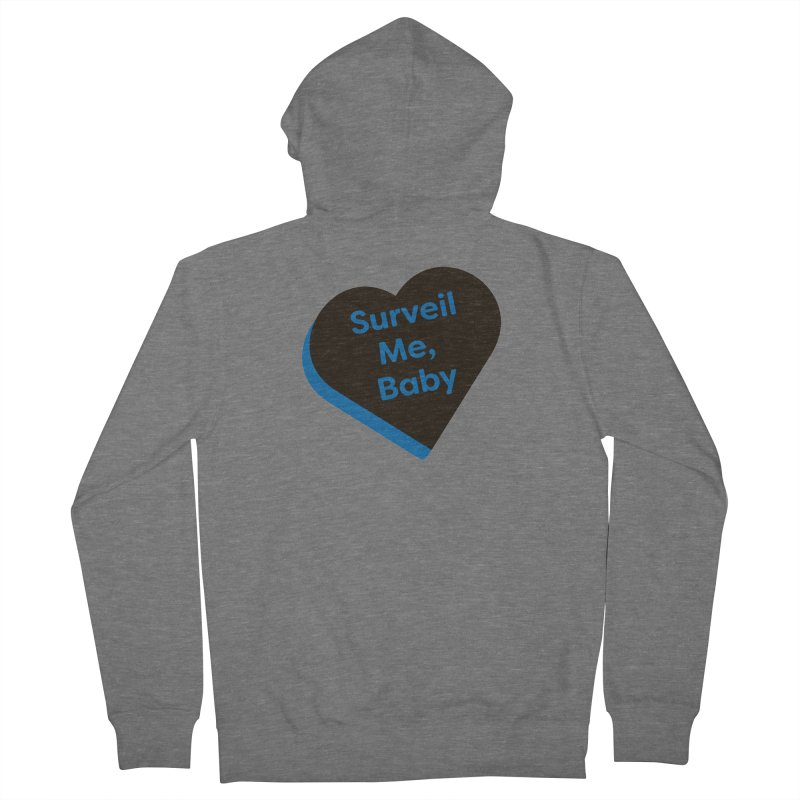 Surveil Me, Baby (Magic the Gathering Valentine - Dimir) Women's Zip-Up Hoody by The Schwaggering
