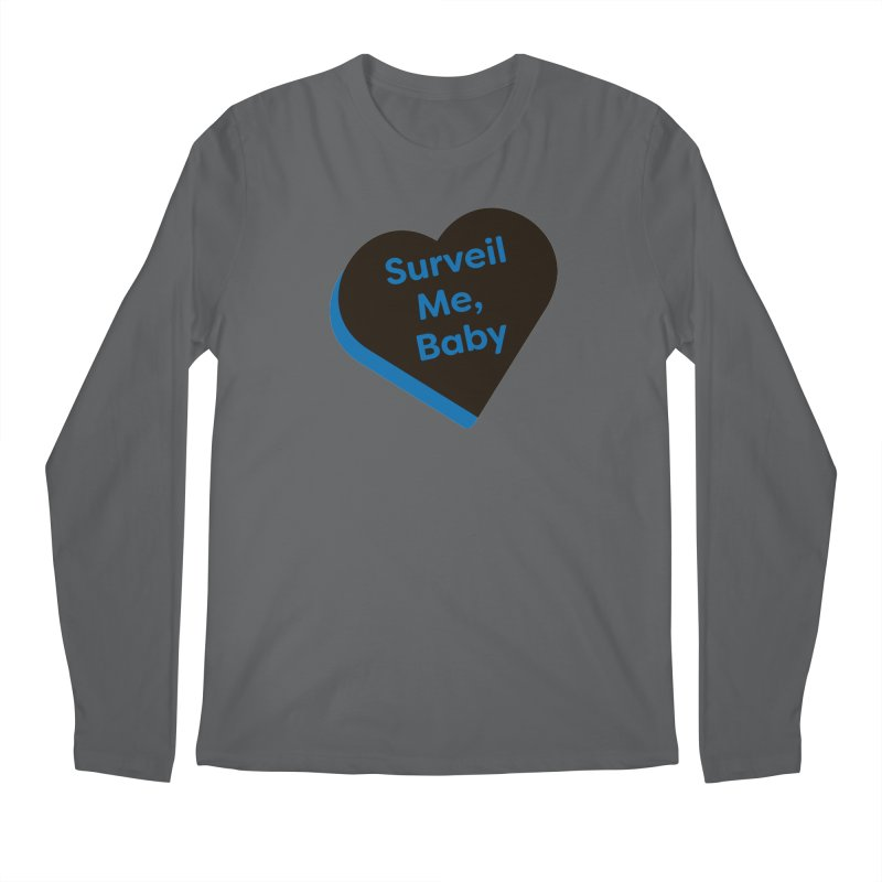 Surveil Me, Baby (Magic the Gathering Valentine - Dimir) Men's Longsleeve T-Shirt by The Schwaggering