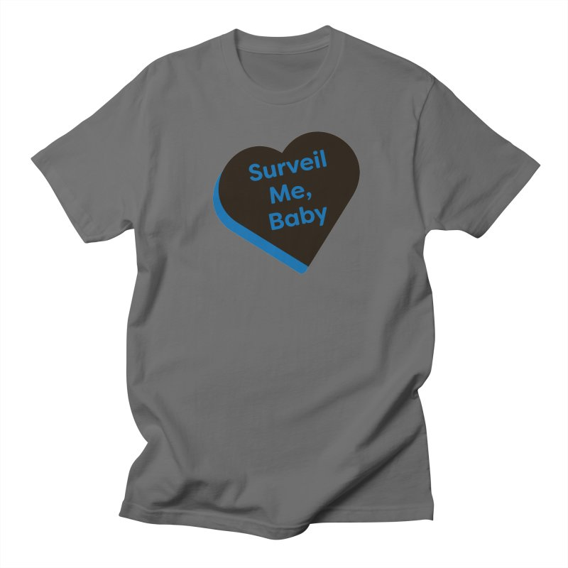 Surveil Me, Baby (Magic the Gathering Valentine - Dimir) Men's T-Shirt by The Schwaggering