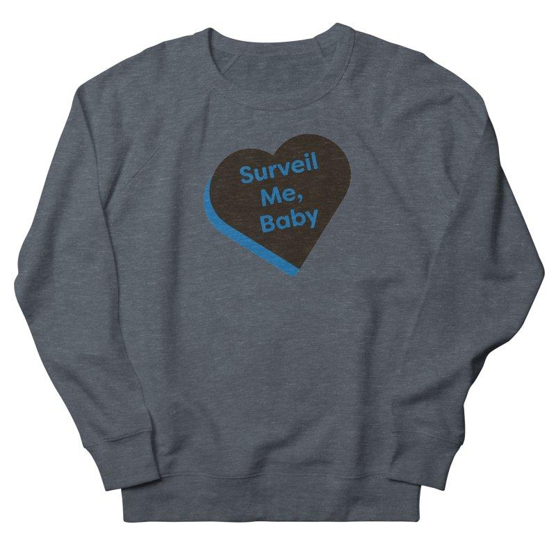 Surveil Me, Baby (Magic the Gathering Valentine - Dimir) Women's Sweatshirt by The Schwaggering