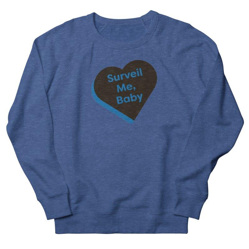 Surveil Me, Baby (Magic the Gathering Valentine - Dimir) Men's Sweatshirt by The Schwaggering