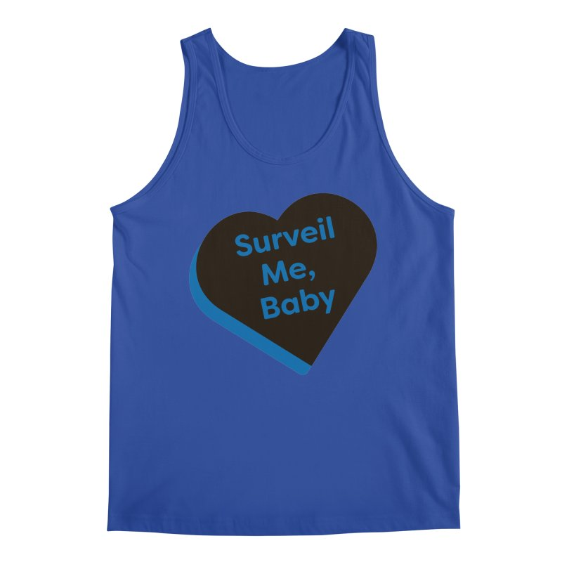 Surveil Me, Baby (Magic the Gathering Valentine - Dimir) Men's Tank by The Schwaggering