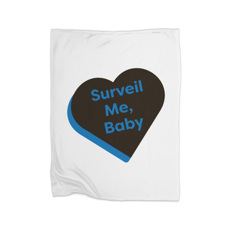 Surveil Me, Baby (Magic the Gathering Valentine - Dimir) Home Blanket by The Schwaggering