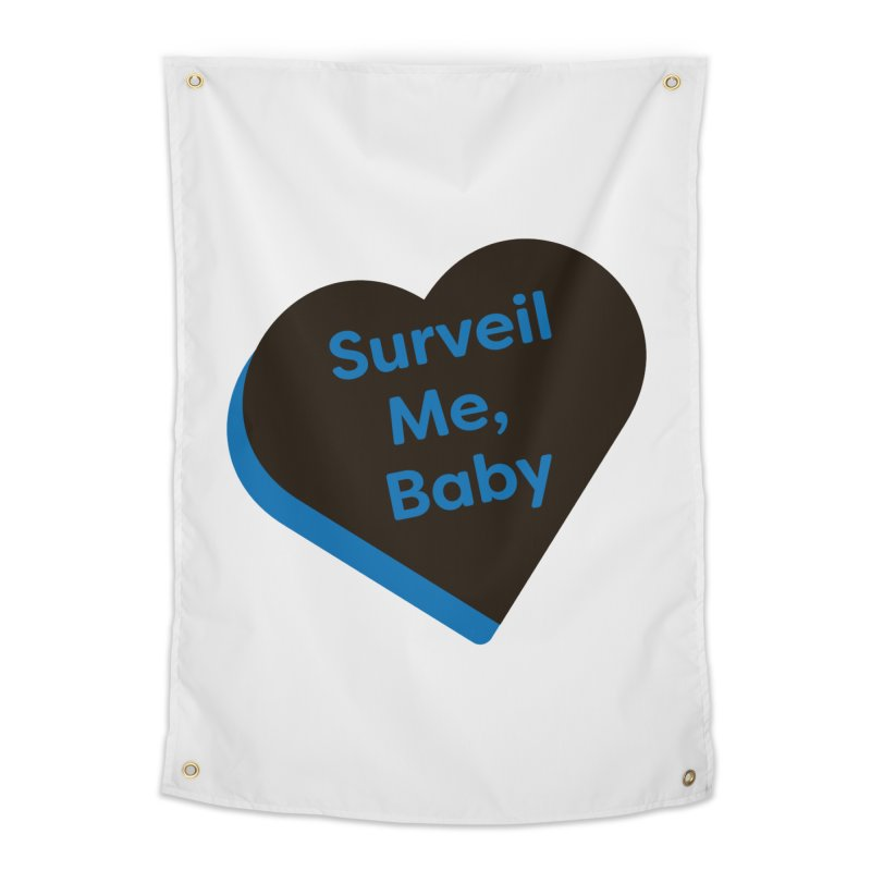 Surveil Me, Baby (Magic the Gathering Valentine - Dimir) Home Tapestry by The Schwaggering