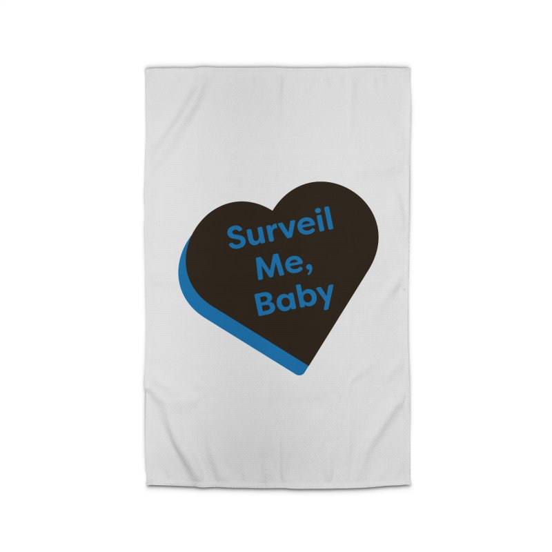 Surveil Me, Baby (Magic the Gathering Valentine - Dimir) Home Rug by The Schwaggering