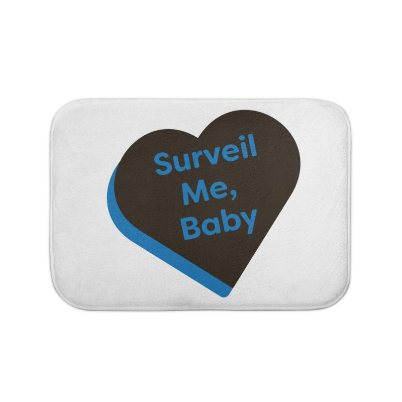 Surveil Me, Baby (Magic the Gathering Valentine - Dimir) Home Bath Mat by The Schwaggering