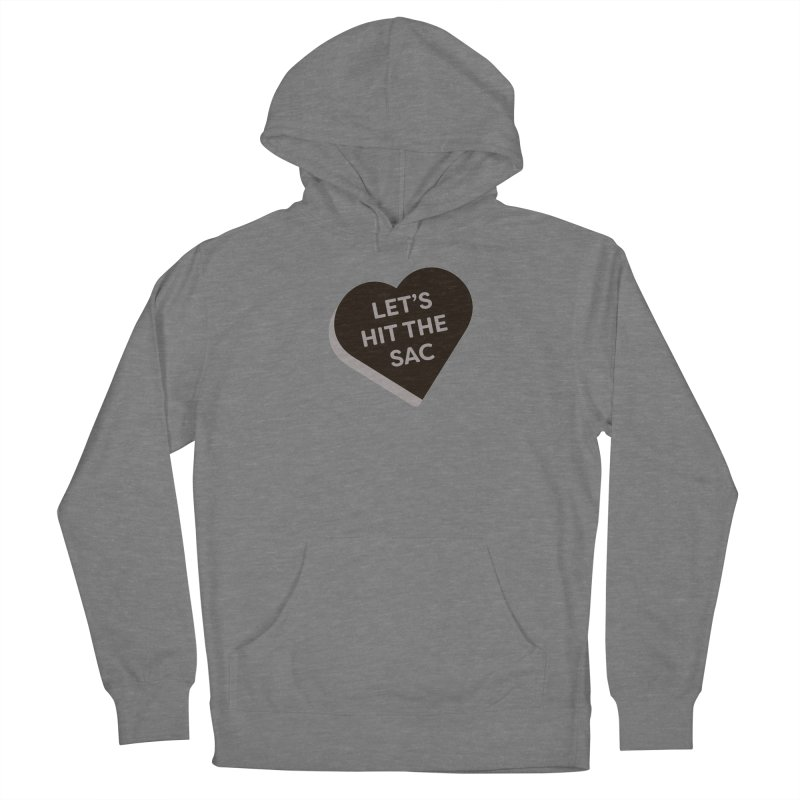Let's Hit the Sac (Magic the Gathering Valentine - Black Sacrifice) Women's Pullover Hoody by The Schwaggering