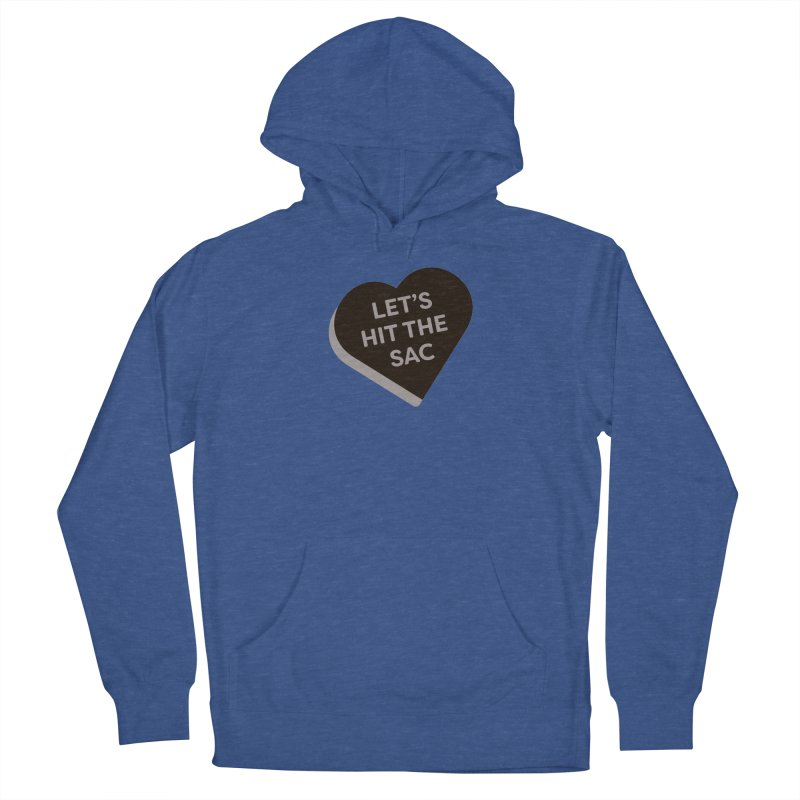 Let's Hit the Sac (Magic the Gathering Valentine - Black Sacrifice) Men's Pullover Hoody by The Schwaggering