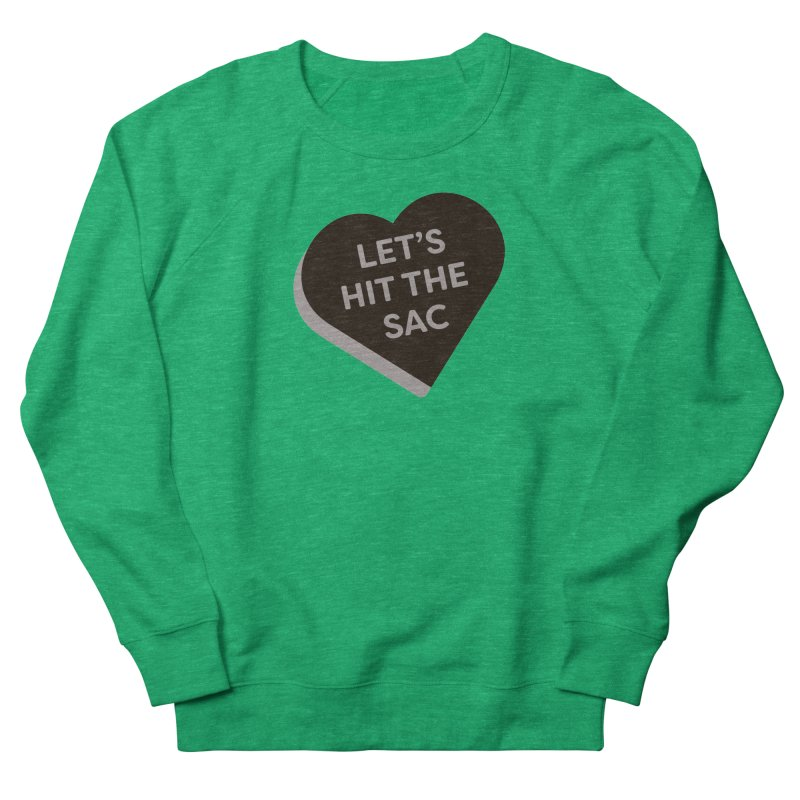 Let's Hit the Sac (Magic the Gathering Valentine - Black Sacrifice) Women's Sweatshirt by The Schwaggering