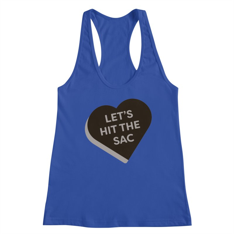 Let's Hit the Sac (Magic the Gathering Valentine - Black Sacrifice) Women's Tank by The Schwaggering