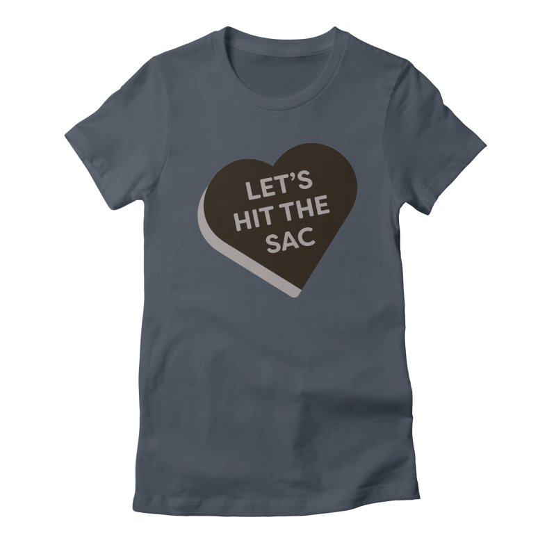Let's Hit the Sac (Magic the Gathering Valentine - Black Sacrifice) Women's T-Shirt by The Schwaggering