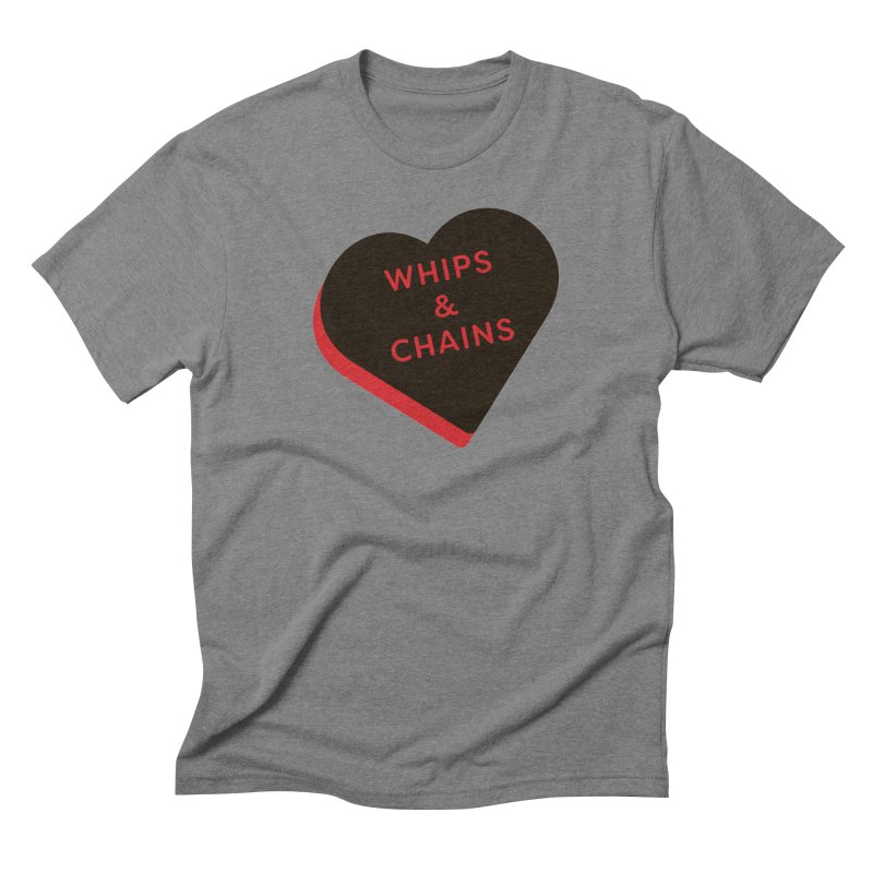 Whips & Chains (Magic the Gathering Valentine - Rakdos) Men's T-Shirt by The Schwaggering