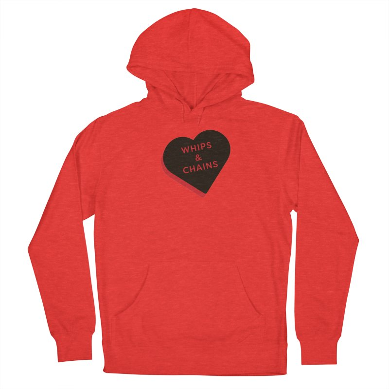 Whips & Chains (Magic the Gathering Valentine - Rakdos) Women's Pullover Hoody by The Schwaggering