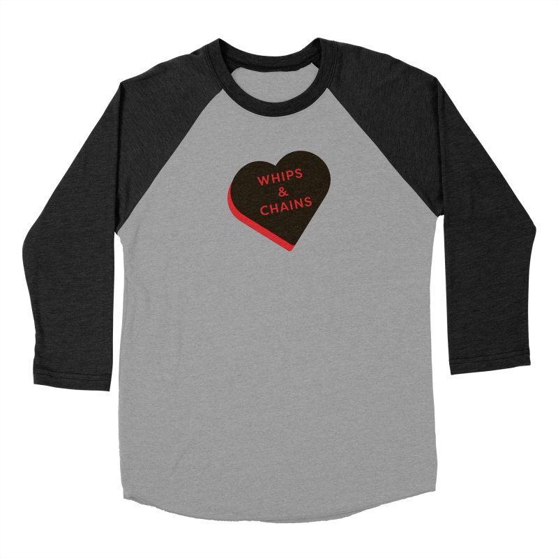 Whips & Chains (Magic the Gathering Valentine - Rakdos) Women's Longsleeve T-Shirt by The Schwaggering
