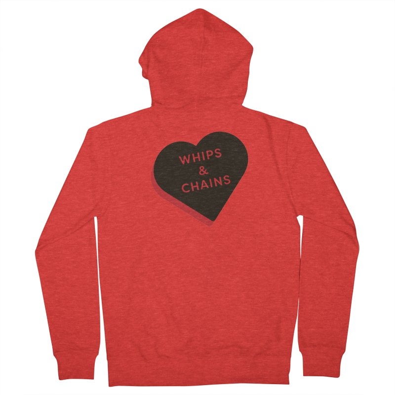 Whips & Chains (Magic the Gathering Valentine - Rakdos) Women's Zip-Up Hoody by The Schwaggering