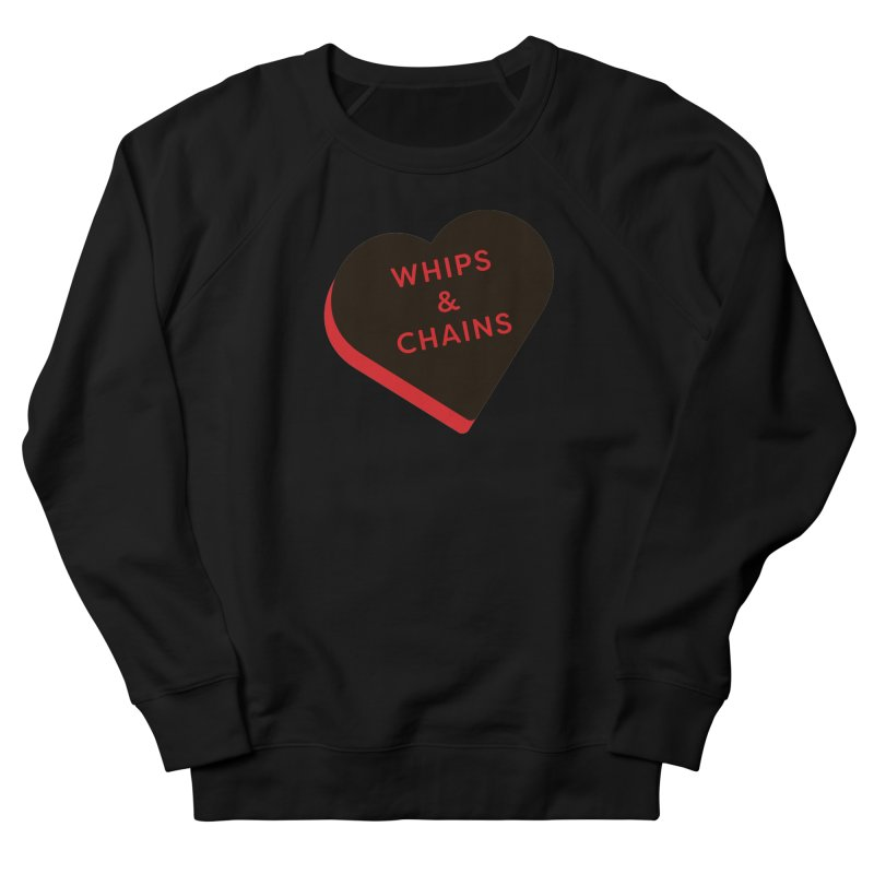 Whips & Chains (Magic the Gathering Valentine - Rakdos) Women's Sweatshirt by The Schwaggering
