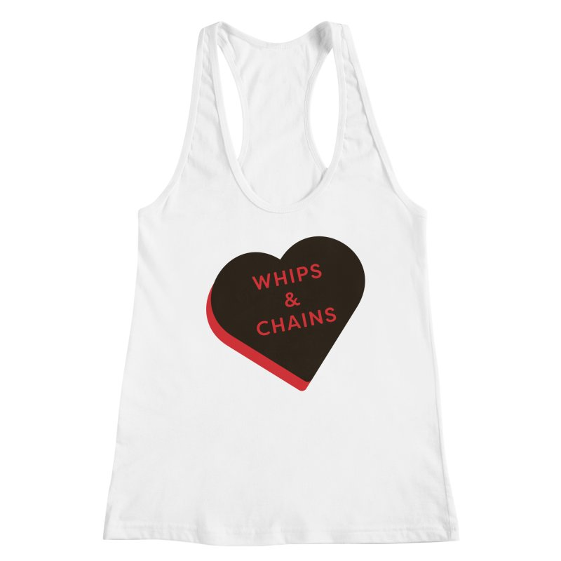 Whips & Chains (Magic the Gathering Valentine - Rakdos) Women's Tank by The Schwaggering