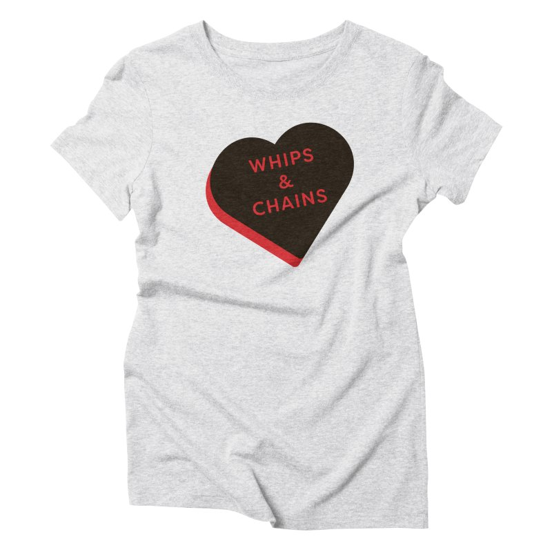Whips & Chains (Magic the Gathering Valentine - Rakdos) Women's T-Shirt by The Schwaggering