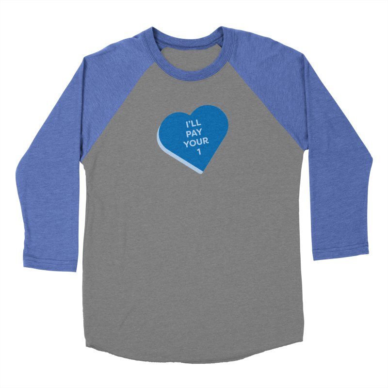 I'll Pay Your 1 (Magic the Gathering Valentine - Commander / Rhystic Study) Women's Longsleeve T-Shirt by The Schwaggering