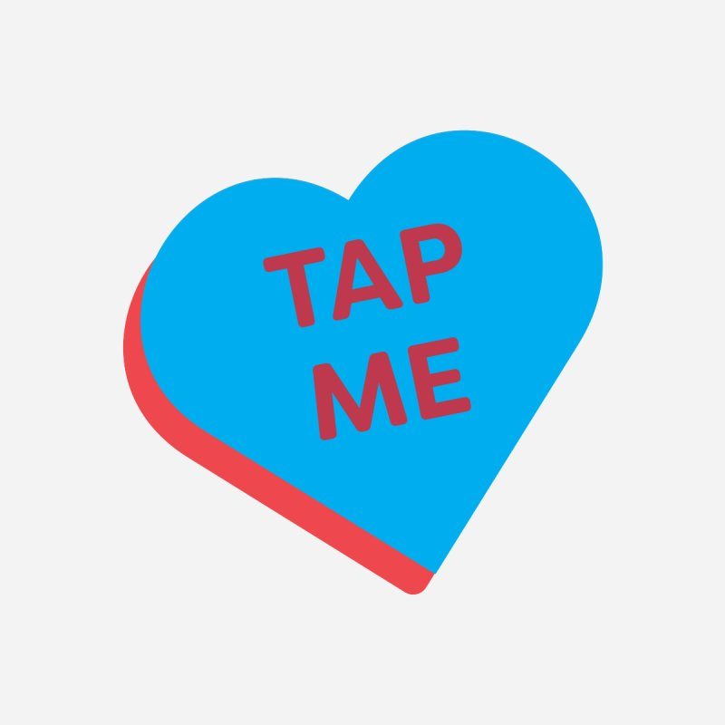 Tap Me (Magic the Gathering Valentine) Men's T-Shirt by The Schwaggering