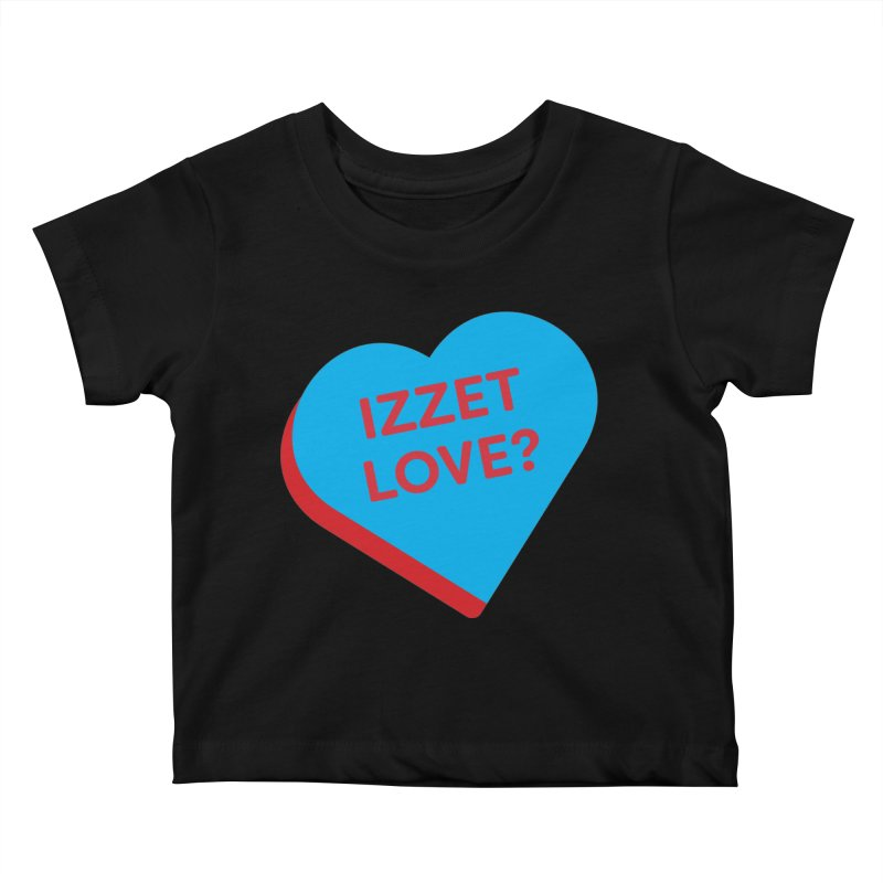 Izzet Love? (Magic the Gathering Valentine - Izzet) Kids Baby T-Shirt by The Schwaggering