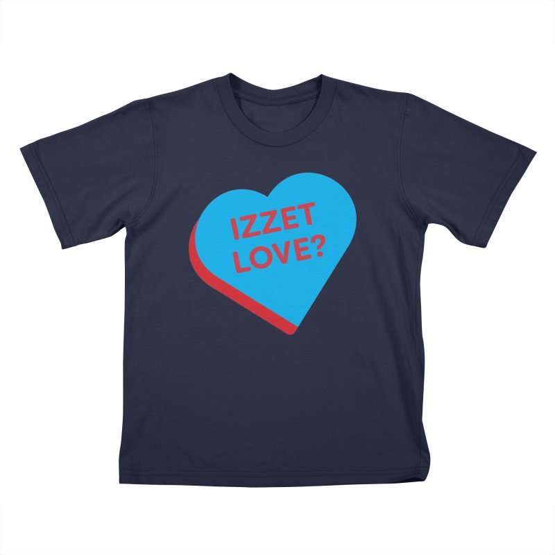 Izzet Love? (Magic the Gathering Valentine - Izzet) Kids T-Shirt by The Schwaggering