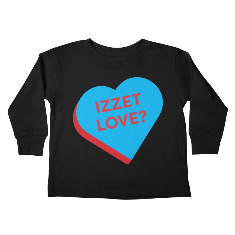 Izzet Love? (Magic the Gathering Valentine - Izzet) Kids Toddler Longsleeve T-Shirt by The Schwaggering