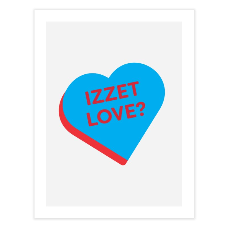 Izzet Love? (Magic the Gathering Valentine - Izzet) Home Fine Art Print by The Schwaggering