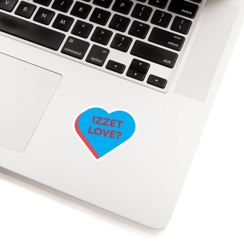 Izzet Love? (Magic the Gathering Valentine - Izzet) Accessories Sticker by The Schwaggering