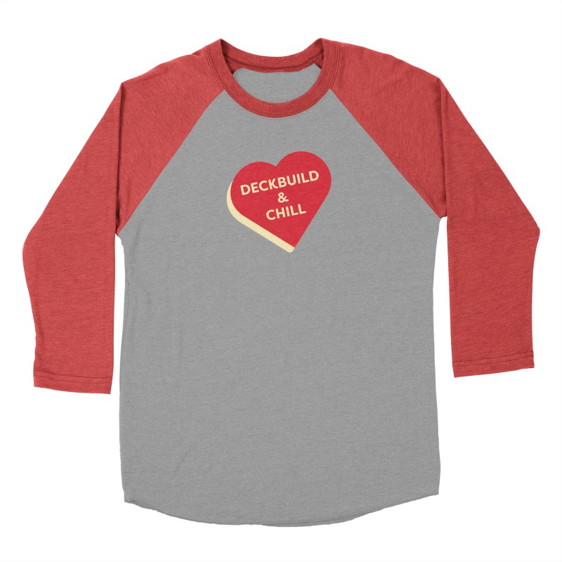 Deckbuild & Chill (Magic the Gathering Valentine) Men's Longsleeve T-Shirt by The Schwaggering