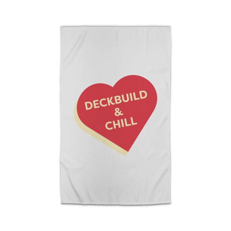 Deckbuild & Chill (Magic the Gathering Valentine) Home Rug by The Schwaggering