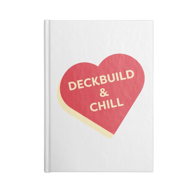 Deckbuild & Chill (Magic the Gathering Valentine) Accessories Notebook by The Schwaggering
