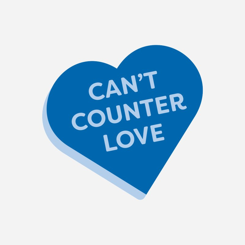 Can't Counter Love (Magic the Gathering Valentine) Women's V-Neck by The Schwaggering