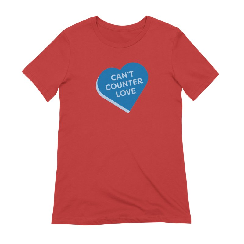 Can't Counter Love (Magic the Gathering Valentine) Women's T-Shirt by The Schwaggering