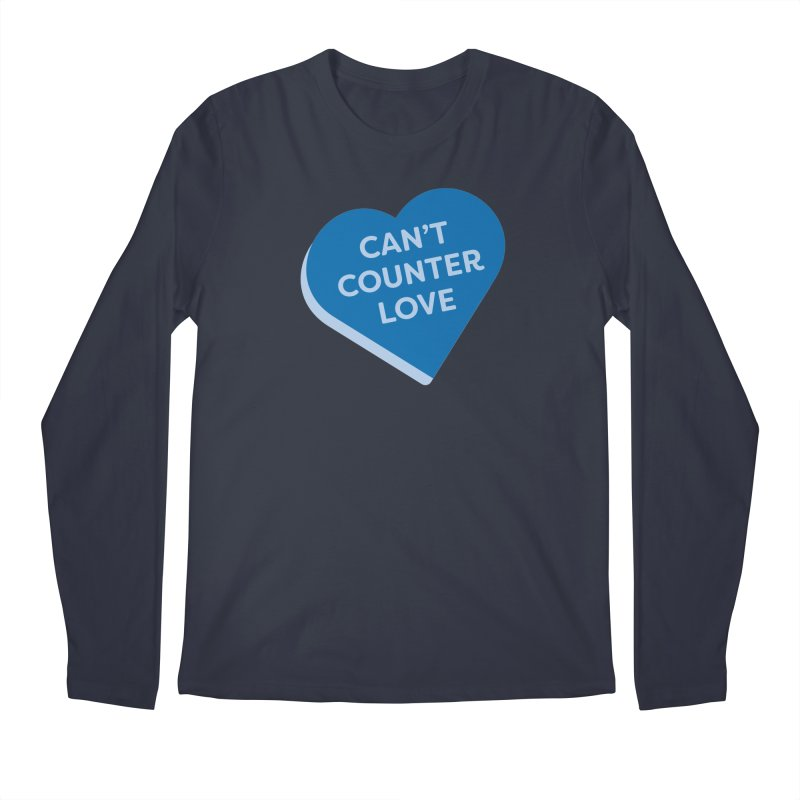 Can't Counter Love (Magic the Gathering Valentine) Men's Longsleeve T-Shirt by The Schwaggering