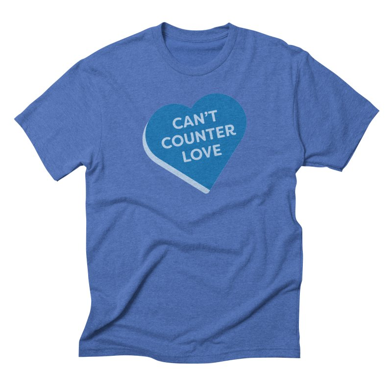 Can't Counter Love (Magic the Gathering Valentine) Men's T-Shirt by The Schwaggering
