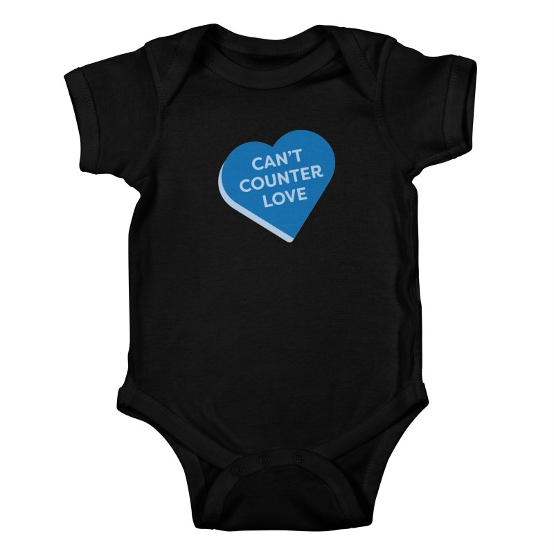Can't Counter Love (Magic the Gathering Valentine) Kids Baby Bodysuit by The Schwaggering