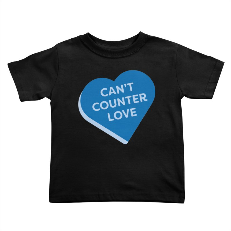 Can't Counter Love (Magic the Gathering Valentine) Kids Toddler T-Shirt by The Schwaggering