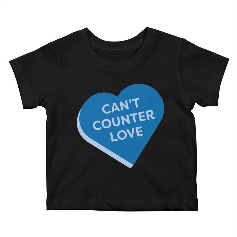 Can't Counter Love (Magic the Gathering Valentine) Kids Baby T-Shirt by The Schwaggering