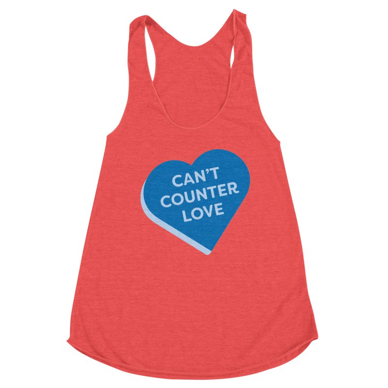 Can't Counter Love (Magic the Gathering Valentine) Women's Tank by The Schwaggering