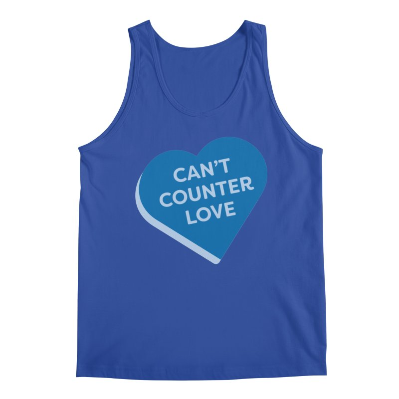 Can't Counter Love (Magic the Gathering Valentine) Men's Tank by The Schwaggering