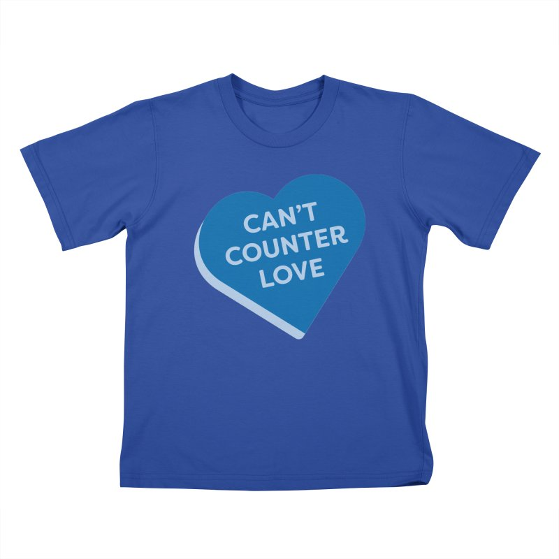 Can't Counter Love (Magic the Gathering Valentine) Kids T-Shirt by The Schwaggering