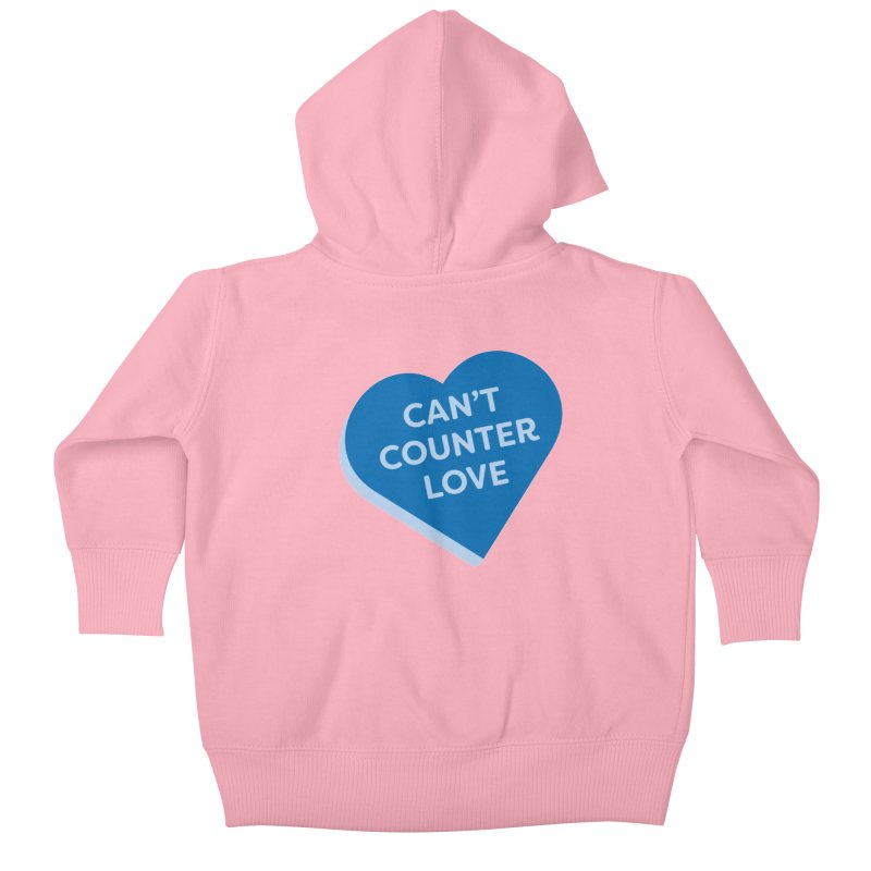 Can't Counter Love (Magic the Gathering Valentine) Kids Baby Zip-Up Hoody by The Schwaggering