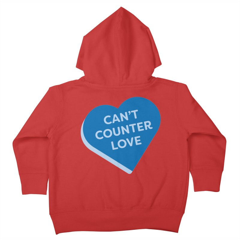 Can't Counter Love (Magic the Gathering Valentine) Kids Toddler Zip-Up Hoody by The Schwaggering