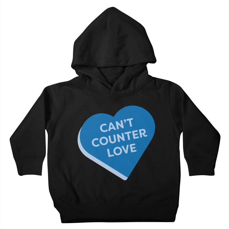 Can't Counter Love (Magic the Gathering Valentine) Kids Toddler Pullover Hoody by The Schwaggering