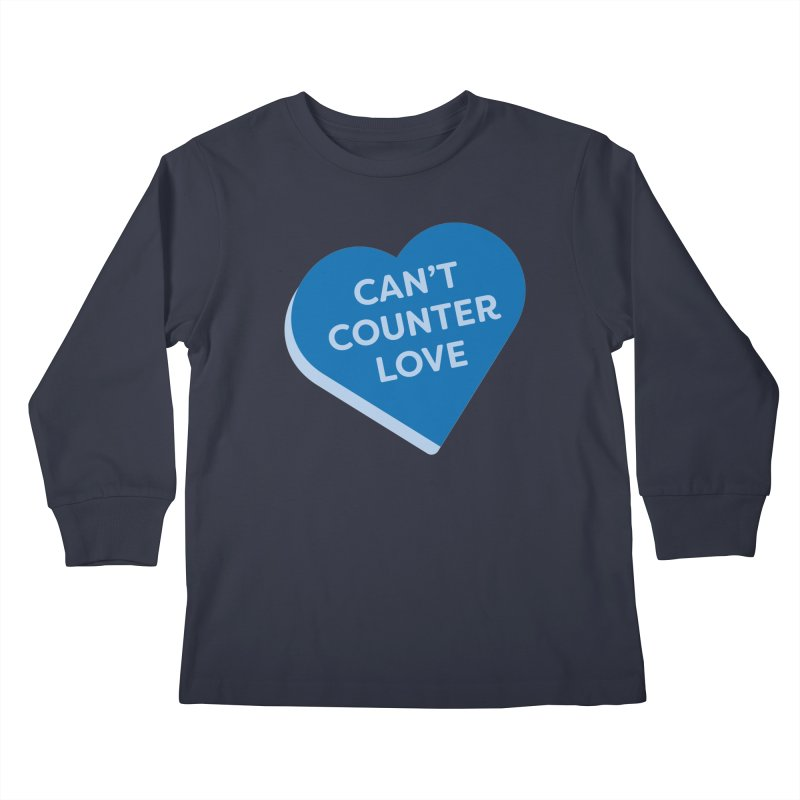 Can't Counter Love (Magic the Gathering Valentine) Kids Longsleeve T-Shirt by The Schwaggering