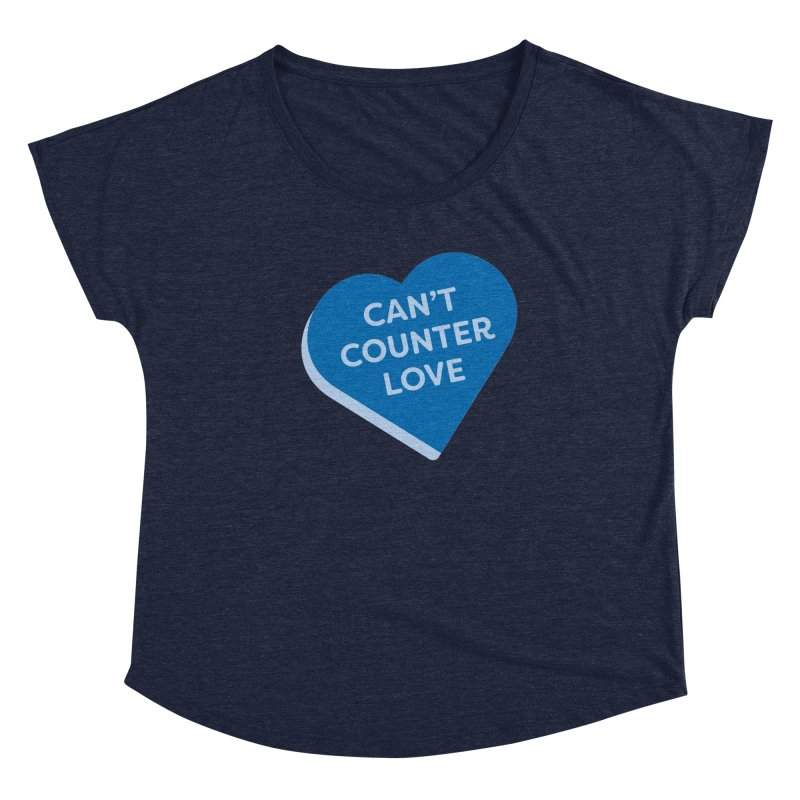 Can't Counter Love (Magic the Gathering Valentine) Women's Scoop Neck by The Schwaggering