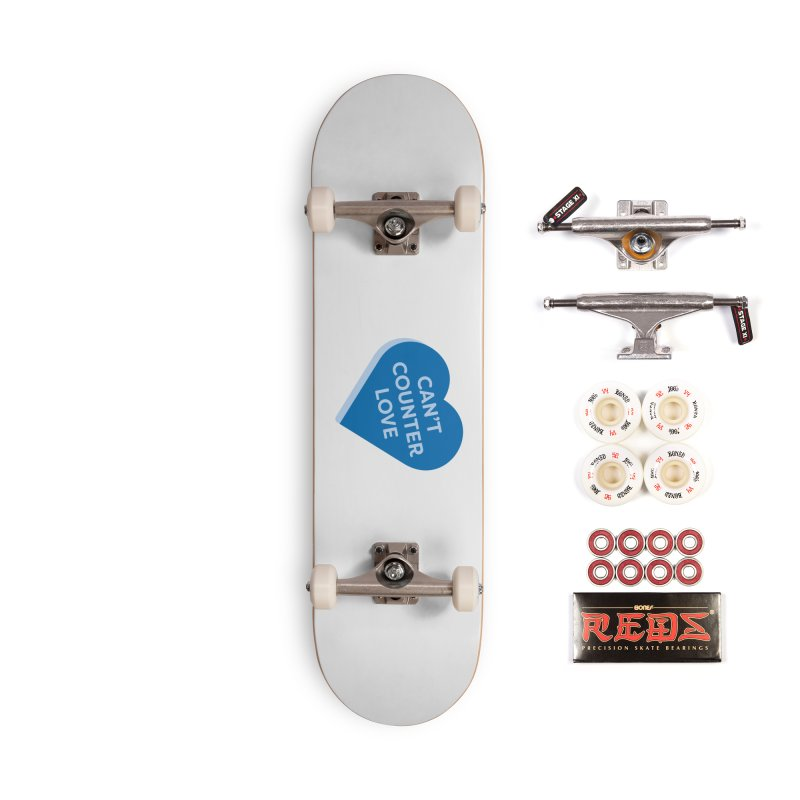 Can't Counter Love (Magic the Gathering Valentine) Accessories Skateboard by The Schwaggering